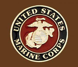 New United States Marine Corps Belt Buckle Round