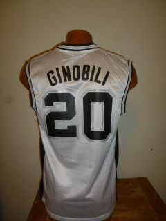 NBA San Antonio Spurs Manu Ginobili Mens Replica Jersey New S