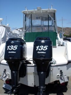 1998 Mercury Marine Outboard Boat Motor Engine 135 HP 2 Stroke Used