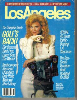 Markie Post Los Angeles Magazine 10 88 Hottest Yuppie