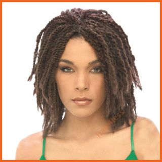 Afro Kinky Marley Braid Bulk Extension Choose Your Color