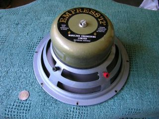 Single Vintage Empress 12 Marsland Engineering Alnico Speaker