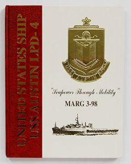 USS Austin LPD 4 Marg 3 98 Mediterranean Cruise Book 1998