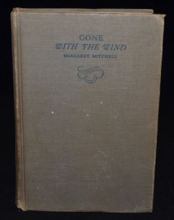THE WIND 1st Edition Early Printing September 1936 MARGARET MITCHELL