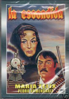 La Escondida Maria Felix Pedro Armendariz DVD