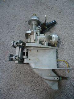 BOAT Marine OUTBOARD MOTOR with LOWER UNIT & ENGINE MOUNT BRACKET