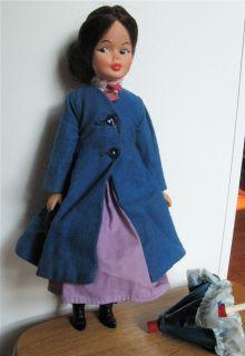 Mary Poppins Doll and Umbrella