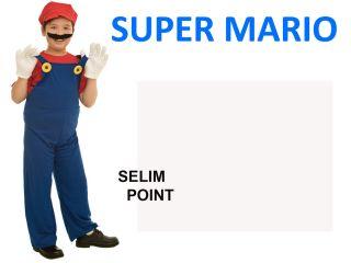 Vestito Costume Di Carnevale Super Mario TG M Bambino 7 10 Anni