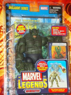 Marvel Legends Green Hulk The Abomination figure Toy Biz Series