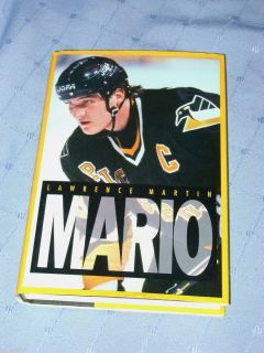 MARIO by LAWRENCE MARTIN BIOGRAPHY LEMIEUX NHL HOCKEY BOOK HB PENGUINS