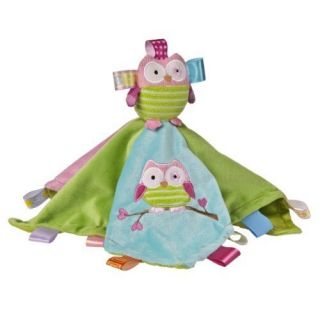 Mary Meyer 12 Plush Taggies Oodles Owl Character Blanket New