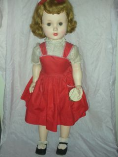 Vintage RARE Mary Ellen Walker Madame Alexander Play PAL Doll 1950s