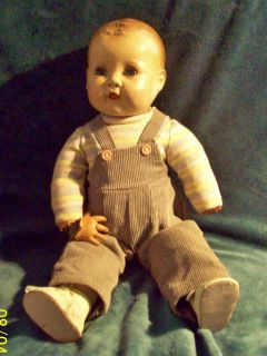 jUMEAU? IDEAL ANTIQUE VINT DOLL creepy VOGUE? RARE BOY DOLL BLACK BABY