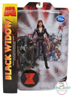 Marvel Select Action Figure Exclusive Black Widow by Diamond Select