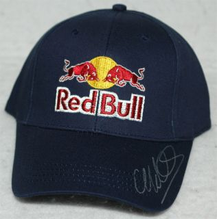 Mark Webber Signed Red Bull Racing F1 Cap Hat