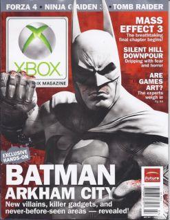 Xbox Magazine Batman Arkham City Mass Effect 3 Forza 4