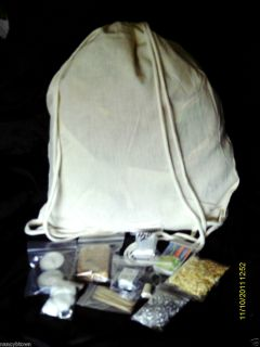 Emergency Survival Kit Fire Blanket Magnesium Strike Anywhere Matches