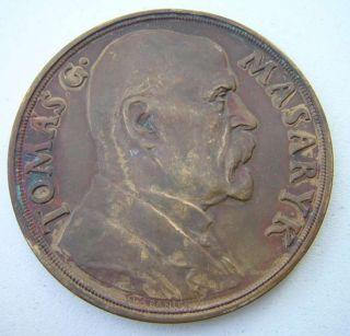 Czechoslovakia President Tomas G Masaryk 1935 Medal