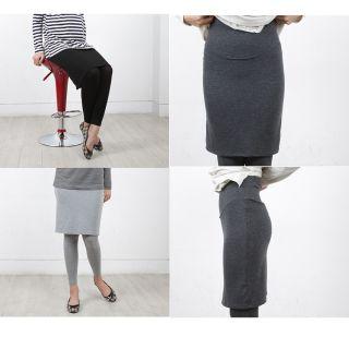 New Maternity Clothes Skirt Leggings Tight Pregnancy Skirt Leggings