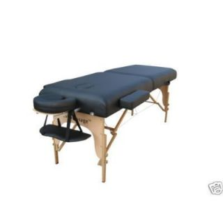 New PU Portable Massage Table w Carry Case Salon Spa Tattoo Facial Bed
