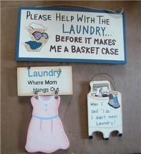 Laundry Room Sign I do Mom Bskt Case Retro Primitive