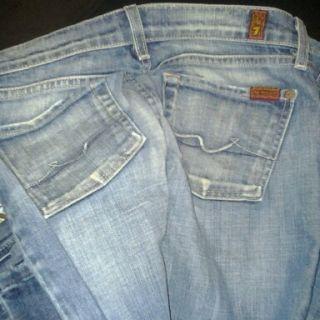 Designer Jeans Mixed Lot Womans Size 0 3 Waist 25 26