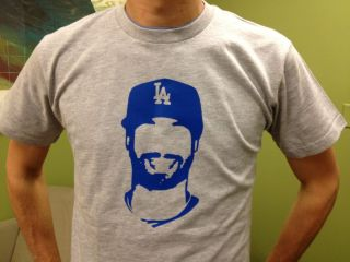 Matt Kemp Beast Mode Los Angeles Dodgers Size M Shirt