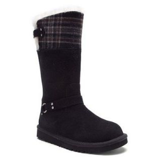 UGG KIDS Maura boots     Black     new in box 11 toddler Suede $150