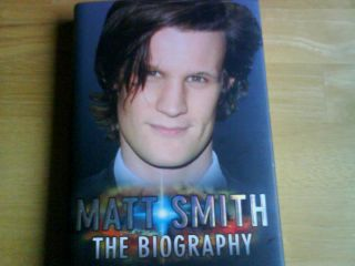 Doctor Who hb hardback book Matt Smith biography mint condition amy