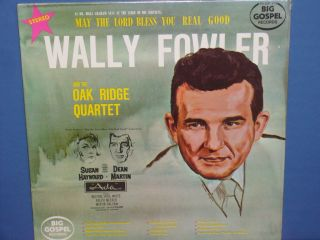 SEALED LP Wally Fowler Oak Ridge Quartet Dean Martin