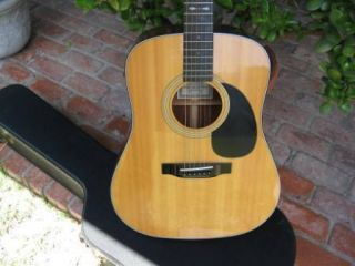 Sigma Acoustic Guitar DM 4 with Factory Martin Pickup