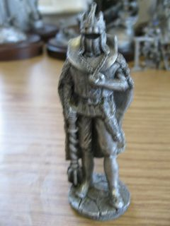 Sculpture The Black Knight 1985 Maurus Fantasy Wizards Dragons