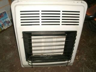 Brick Propane Heater Martin