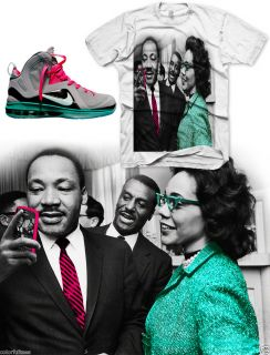 Martin Luther King iPhone Shirt Lebron 9 Elite Miami Vice South Beach