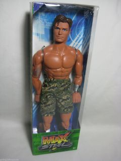 Max Steel Camo Force Soldier Ranger 11 Action Figure Mattel 2003 New