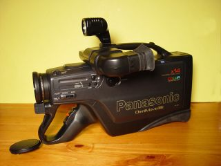 Panasonic VHS Video Camcorder Movie Camera Player Recorder with Manual