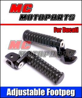 Adjustable Foot peg for Ducati Monster S4R ST2 ST4 ST3 900 SS 1000SS