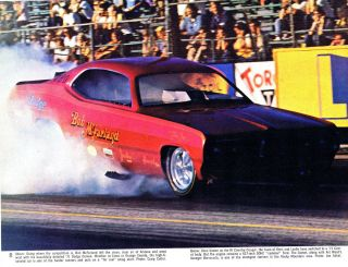 NHRA IHRA AHRA Drag Racing Dodge Demon Funny Car Bob McFarland