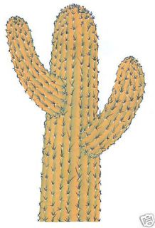 Sajuaro Cactus Large Wall Sticker Home Decor Wall Decal