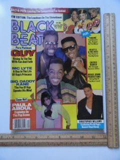 Beat Hip Hop Rap Magazine 1989 N W A MC LYTE Ice Cube RUN DMC Word Up