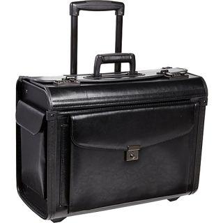 Mcbrine Luggage Bonded Leather Catalogue Case on Wheels
