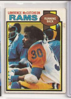 1979 Lawrence McCutcheon Topps Card 265 La Rams CSU