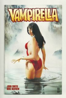 Vampirella 2nd 4 Mike Mayhew Cover 1st Print
