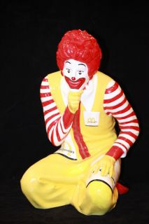 ORIGINAL 1979 SETMAKERS RONALD MCDONALD PLAYLAND STATUE SIGN MCDONALDS