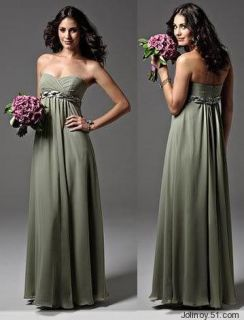 Maternity Chiffon Wedding Bride Dress Prom Evening Gown