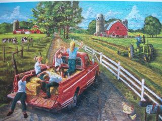 Cobble Hill McGavins Farm 400 PC Jigsaw Puzzle Family Puzzle