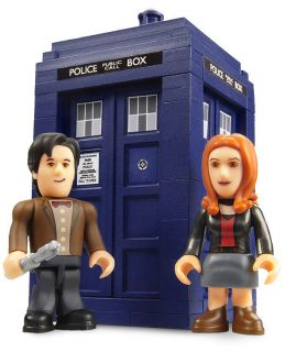 DR WHO MATT SMITH AMY POND FIGURE 11TH DOCTOR TARDIS TIME MACHINE