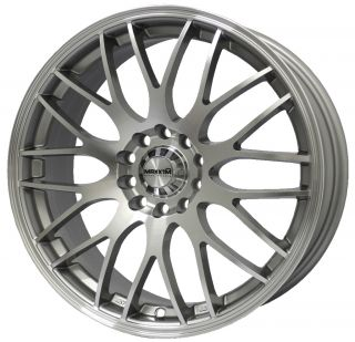 16 Maxxim Maze Silver Rims Wheels 16x7 40 5x114 3 Civic RSX DC5 Type R