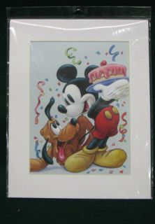 Bruce McGaw Graphics Mickey Mouse w Pluto