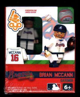 Brian McCann OYO Lego Minifigure Minifig Baseball Gen 1 OYO232